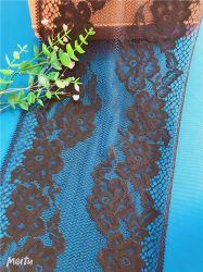 Tessuto netto francese del merletto del gallone di Tulle dell'ultimo africano nero