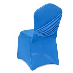 Barato crepe branco Spandex Cadeira de casamento cobrir