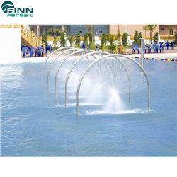 Jet de acrílico de Vspa de la piscina del masaje para el parque del agua