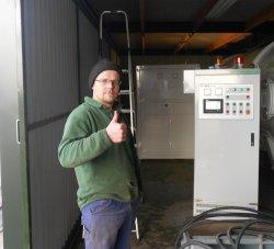 Heißes Produkt Mikrowelle Vakuumtrockner / HF Vakuumtrockner für Holz / Industrie-Vakuumtrockner