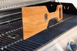 Limpe churrascos Ferramenta de madeira/churrasco pás de madeira