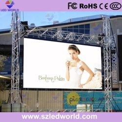 Schermi a parete LED portatili per interni/esterni pannello per affissioni pannello per pubblicità sfondo Display parete segnale buon ricevitore cabinet P10, P8, P6, P5, P4,