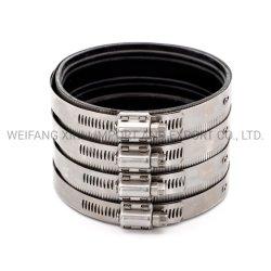 9Connect Grijs IJzeren pijpkoppeling flexibele roestvrijstalen 304/316 koppeling