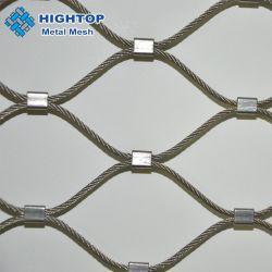 El Zoo de acero inoxidable 304 X tienden el Cable de compensación de malla pajarera