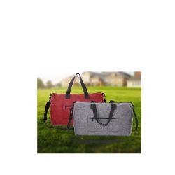 حقيبة سفر قابلة للتخصيص من البولي إريستر قابلة للطي مخصصة باللون الأحمر حقيبة