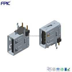Seite tragen elektronisches aufladendes Port-Verbinder-Teil Schaltkarte-Elemente USB-Af ein