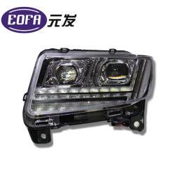지프 나침의를 위한 겹빛 렌즈 헤드라이트 회의에 의하여 숨겨지는 자동 램프