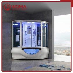 Dos tienen ducha de vapor y gran lujo combinado ducha sala de vapor con función de Masaje Sauna de Vapor