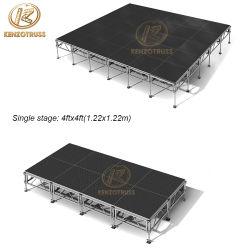 La promoción de eventos de aluminio barato etapa para la venta