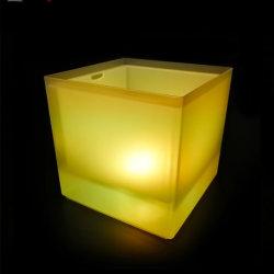 Barre du refroidisseur de glace LED seau à glace glace Feux de godet