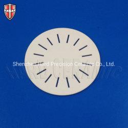 Fabrico personalizado de Al2O3/discos de cerâmica/bolachas com alumina