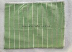 Fibre de bambou en microfibre Serviette de nettoyage des fibres de bois Chiffon de nettoyage pour la maison