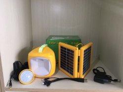 Lumière LED solaire Muti-Functional avec Extra 1PC Ampoule de LED/Adaptateur secteur/USB