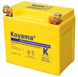 12V de 6.5ah Verzegelde Batterij Kbtz7s van de Motorfiets van het Lood Zure