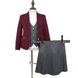 Настраиваемые воздухопроницаемость моды школьная форма и износа для девочек и мальчиков
