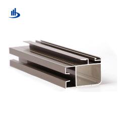 Dessins de CAO requis pour Windows dans l'aluminium anodisé personnalisé gris/noir mat/ Silver