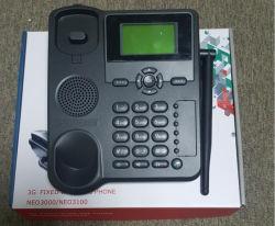 Neo3100 Huawei 3G örtlich festgelegtes drahtloses Tischplattentelefon des Telefon-GSM& 3G Fwp, Stimme + SMS + Wählverkehr
