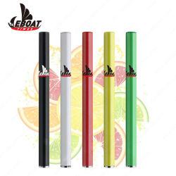 Comercio al por mayor de 500 inhalaciones 1.2ml personalizada algodón estructura Cigarrillo Electrónico Desechable