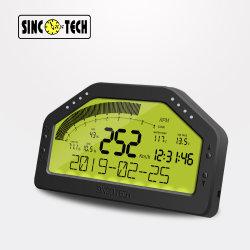 N903 Sinco Tech OBD2 multifonction 9000tr/min ; Tableau de bord Tableau de bord de la race d'affichage COMPTEUR DE JAUGE