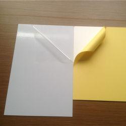 El doble de 100 hojas de PVC autoadhesivo para el libro de fotos Álbum unas hojas de papel