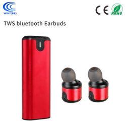 6.0 Hoofdtelefoon Earbuds van Tws Bluetooth van het Metaal van de Vermindering van het lawaai de Draagbare Mini Draadloze