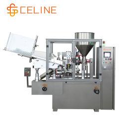 ماكينة تعبئة أنبوب التجميع الصيدلاني التلقائي