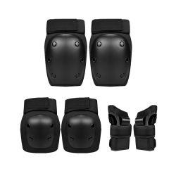 OEM Custom Skate Protection knieelleboogpolsbeschermingsset voor Kinderjeugd Adult Cycling Biking Skateboard Protective Guards Gear Set