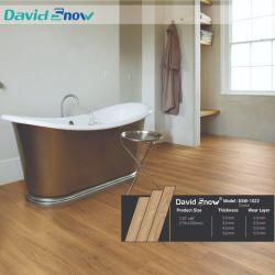 Europäische Art-Badezimmer-Vinylfußboden-Fliese-hölzerne Blickguangzhou-Vinylfliese