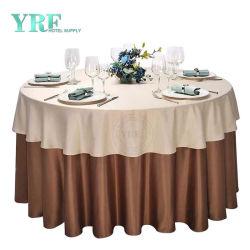 حفلة زفاف وقطع طاولة مستديرة شعبية مطبوعة للموائد المستديرة