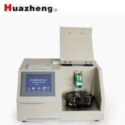 Huazheng Baoding Auto Electric Oil Acid Neutralization Number Analysis Instrument