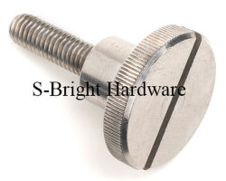 برغي الإبهامية مصنوع من الفولاذ المقاوم للصدأ والماكينات AISI316 المخصصة (F-103)