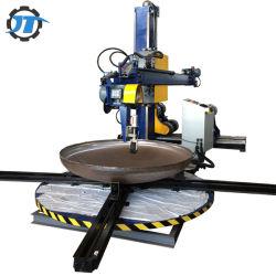 Plat en acier inoxydable fin Surface de la tête du réservoir de meulage polisseuse automatique