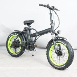 20*4,0 pneu Fat 48V500W Poignée pliable électrique barre et tige Vélo Pliant