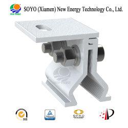 Алюминиевый корпус солнечной энергии на угол привода вспомогательного оборудования и щипцы для солнечной металлической крышей