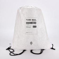 ورق Tivek قابل للغسل تم تخصيص بالجملة الترويج هدية التسوق شاطئ السفر حقيبة درج حقيبة حقيبة ظهر للسفر قابلة لإعادة الاستخدام