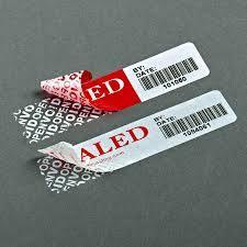 Custom недействительными открыть упаковочные ленты безопасности метки безопасности