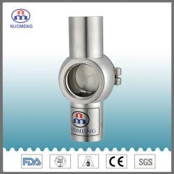Les mesures sanitaires de la soudure transversale en acier inoxydable, verre de regard Nm15018