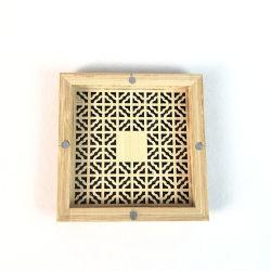 الخشب الخيزران اليدوية حرفة حامل ذراع إنسينس أدخل خense خشبي صندوق الناسخ