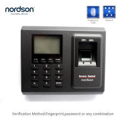 Fr-f2 Standalone Van het tcp/ip- Netwerk Terminal van de Opkomst van het Toegangsbeheer &Time van de Vingerafdruk van het rfid- Identiteitskaart