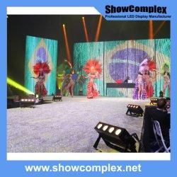 P3.9コンサートの背景の壁のための屋内フルカラーの大きいビデオLED表示スクリーン
