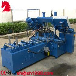 Ghs4250 de Volledige Automatische CNC Zagende Auto Dubbele Machine Om metaal te snijden van de Lintzaag van de Kolom Horizontale Hydraulische
