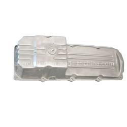 China fundición de aluminio de fundición de arena de OEM de alimentación de la gravedad del cárter de aceite de aleación de aluminio de fundición