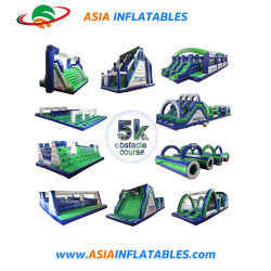 Гигантские надувные безумной 5K препятствие, надувные препятствием на пути гонки вооружений для запуска события