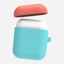 per cassa del trasduttore auricolare di scossa della cassa molle del silicone degli accessori del Apple Airpod l'anti