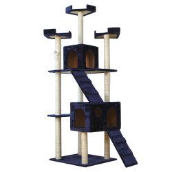 Eco-Friendly 고양이 탑 튼튼한 가구 애완 동물은 구입된 공동 자금 활동 센터 새끼 고양이 실행 고양이 나무를