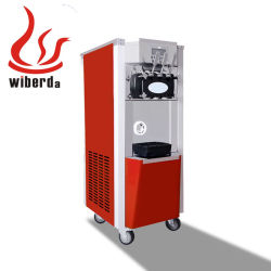 Pre-Cooing OEM 3 Servir programável de sabor suave de congelador automática servem sorvete Máquina de Venda Directa