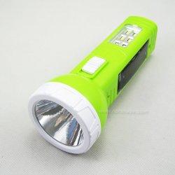 L'énergie solaire lampe torche à LED rechargeable multi-usages (T5158)