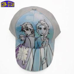 Verifica Frozen di Fama della protezione della ragazza di Blingbling del fiore della neve del berretto da baseball 3D