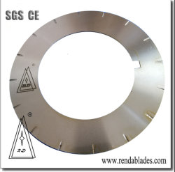 Ld Höhenflossenstation-materieller Stahlstreifen-aufschlitzende Drehschaufel für Metalldas aufbereiten