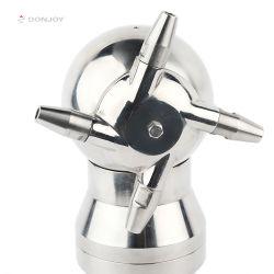 Elevado grau de pureza em aço inoxidável de limpeza de bico rotativo cabeça para a Limpeza do Tanque